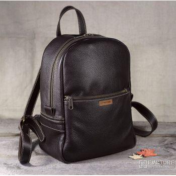 Кожаный женский рюкзак RS 03