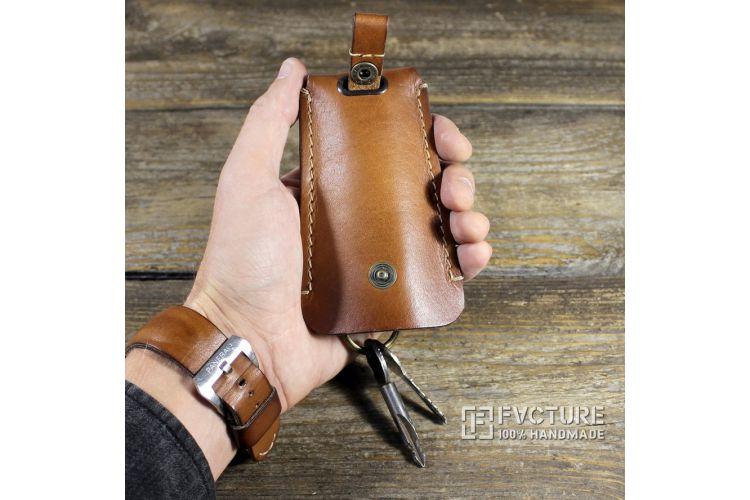 Ключница из натуральной кожи HP 001